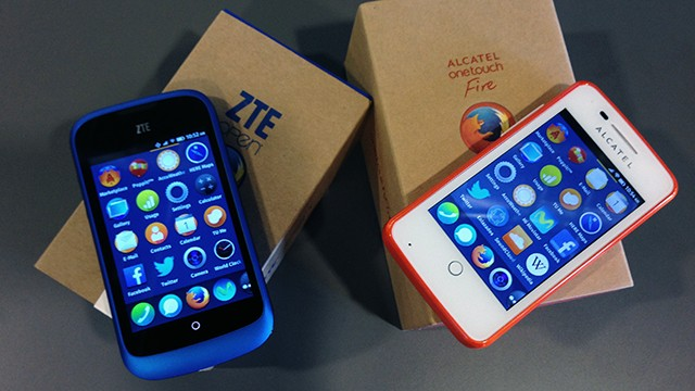 Smartphone business by Firefox / Firefox OS Phones