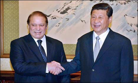 Nawaz Sharif first visit of China 2013