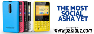 Nokia Asha 210 Review and Price in Pakistan