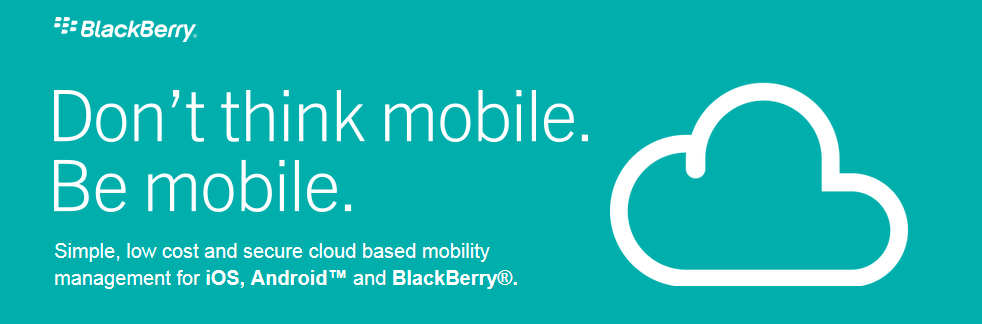 BlackBerry Cloud Service for BB,Android And IO S Mobile