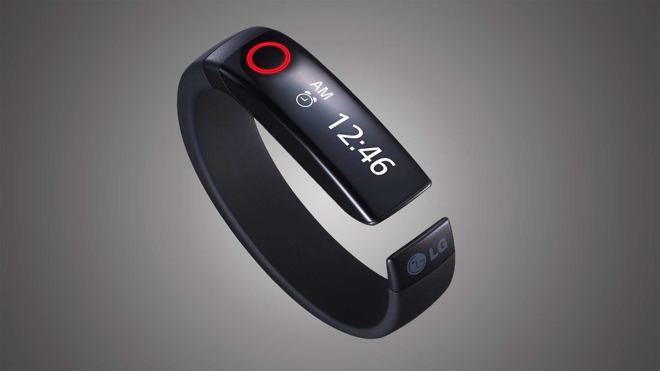 LG Fitness Wristband Tracker Touts OLED Touchscreen