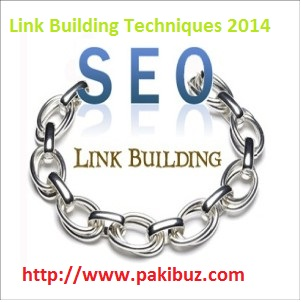 Latest Link Building Techniques 2014