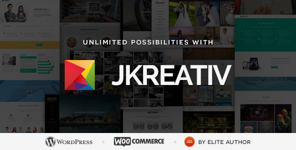Jkreativ - Multilayer Parallax MultiPurpose Theme